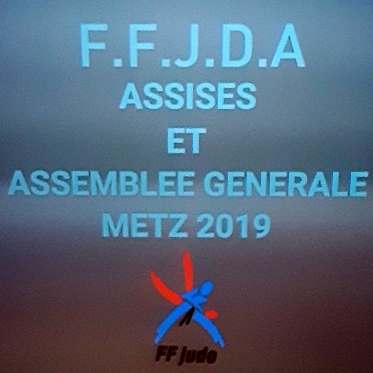 07 avril 2019 - A.G. FFJDA - Metz