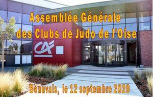 ASSEMBLEE GENERALE - ELECTIONS  12/09/2020